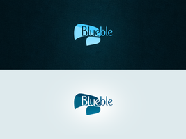 Blueble Logotype by Firless
