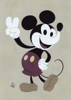 Mickey Mouse by pumml