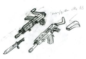 zebra griffin rifle A3 by dranor44