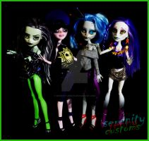 monster high repaints by serenityjenny