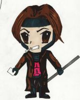 Chibi Gambit - Unfinished by mumblingwildebeest