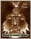 Third Place Stamp by japookins