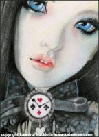 Aceo - Clockwork Fantasia by Katerina-Art