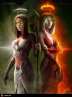Light and Flame by TamplierPainter