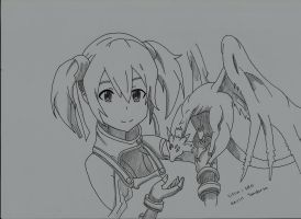 Silica - Sword Art Online by Kevintan19