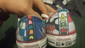 8-bit Converse 3/3 by QuinnArts