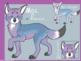 New Fursona: Meg by catz1313