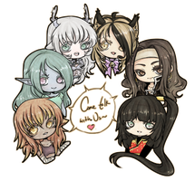 RP Group Characters: Come Talk to Us by TasukiAkana