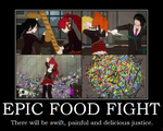Epic Food Fight by Viper-X27