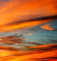 Clouds afire by fosspathei