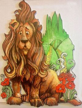 The Cowardly Lion by SeanDietrich