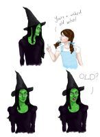 That was uncalled for - Wicked by girlwithquill