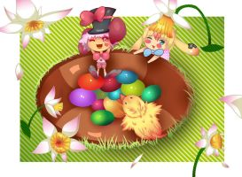 DevBunnie easter fun by yupon