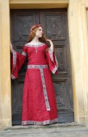 Medieval Red Stock I by DanielleFioreModel