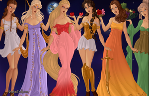 Greek Goddesses by kenzienicole19