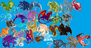Dragons by EDSW-Group