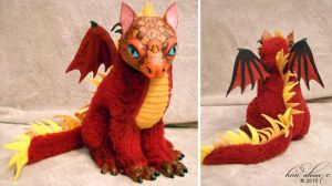 Flame Dragon by kimrhodes
