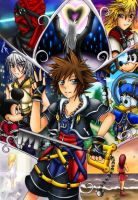 Kingdom Hearts by Vulpeca