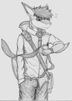 Sharky's uniform by EssZX