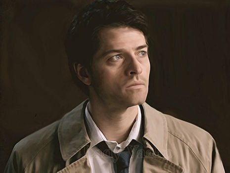 Castiel - Doubt by AlienFodder