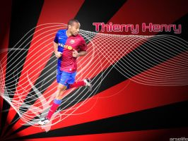 Thierry Henry by arselife