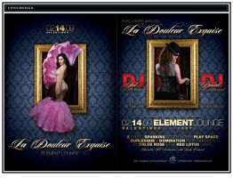 Flyer : La Douleur Exquise by cynicdesign