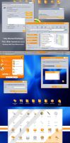 Clock Work Orange Gui Kit by vStyler