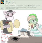 Ask the animatronics: #9 by Chaos55t