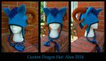 Akon Dragon Hat by TheCrochetDragon