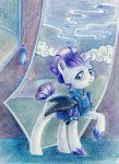 Rarity the Servant by Maytee