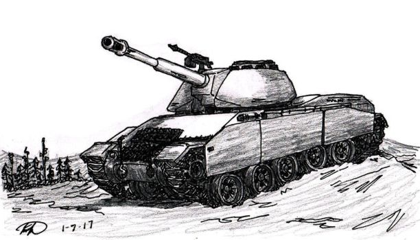 Medium Tank by TimSlorsky