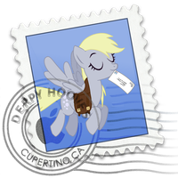 mac mail - derpy by spikeslashrarity