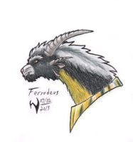 Ferrodeus colorsketch 2013-07-02 by Wraith-Flametail