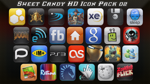 Sweet Candy HD Icon Pack 02 by vasyndrom