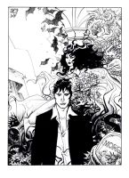 dylan dog pinup by NicolaMari-fan