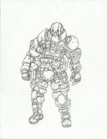 juggernaut rough sketch 1 by bigdaddyEZ