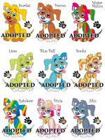FREE doggy adoption by HannahLouLou