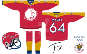 Florida Panthers New 3rd Jersey by FJOJR