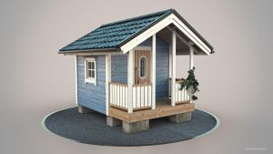 Playhouse - Painted by Creativetone