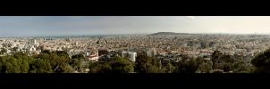 Panorama Barcelona by Mr-Funky-Vogelfutter