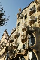 Casa Batllo exterior 2 by wildplaces