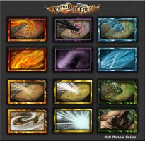 Eternal Epic Icons by RedCyx