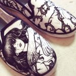 Shoe Art (close up) by ChibiStarChan