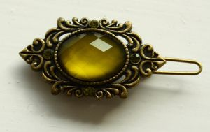 Green brooch by CAStock