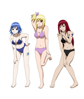 Miss Fairy Tail Winners by Silent-Shanin