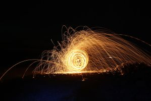 Steel Wool Experiment 1.2 by ragnaice