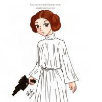 Rest in Peace Princess Leia by Kisarasmoon