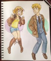 Sam and Artie by gohe1090