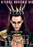 Loki_July_calendar2014 by manulys