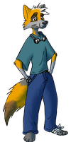 Toony Nik by CoyoteEsquire